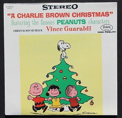 Vince Guaraldi- A Charlie Brown Christmas- Fantasy LP- Stereo- 1965 Press-Sealed