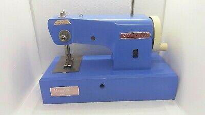 Vintage Vulcan Regal Hand Operated Childs Cast Metal 1950s Sewing machine