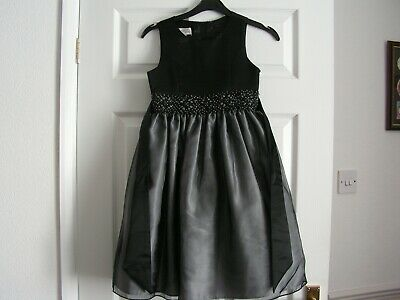 Girls Couture Princess Party Dress Age 8.Blk