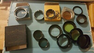 Vintage Cine/Camera Lenses/filters (see details and photos)