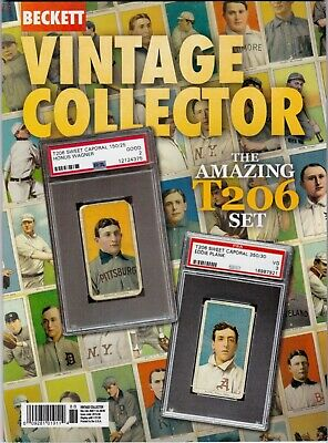 Current Beckett Vintage Collector price guide magazine Dec19/Jan 20 Honus Wagner