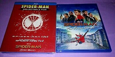 SPIDER-MAN collection cofanetto blu ray + Spider-Man Far From Home blu ray film
