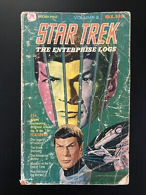 star trek enterprise Logs , Volume #2 Golden Press Comics,Book