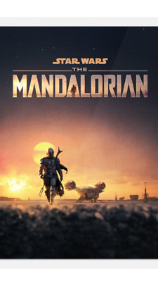 2019 Topps Star Wars : The Mandalorian Trailer Poster Exclusive Card