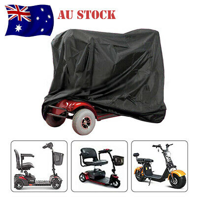 AU Stock Mobility Scooter Storage Cover Wheelchair Waterproof Rain Protection