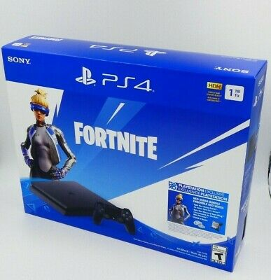SONY PS4 Playstation 4 1TB Slim Console Fortnite Noe Versa Bundle BRAND NEW