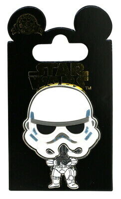 2017 Disney HKDL Star Wars Stormtrooper Pin With Packing Rare W3