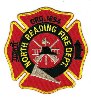 North Reading (Berks County) PA Pennsylvania Fire Dept. patch - NEW!