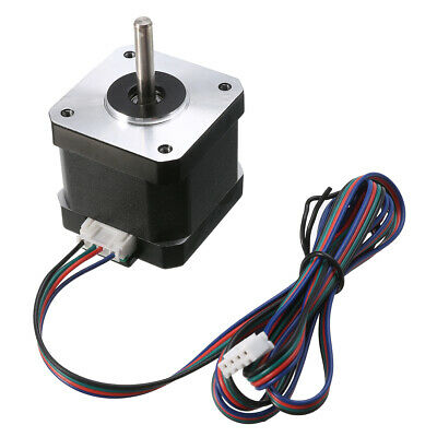 CNC 1.8 Degree NEMA17 1.7A 2 Phase 4-wire Stepper Motor Fit 3D Printer Kits