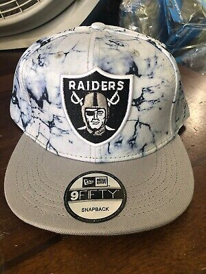 Oakland Raiders New Snapback Hat Cap NFL Football Dyed
