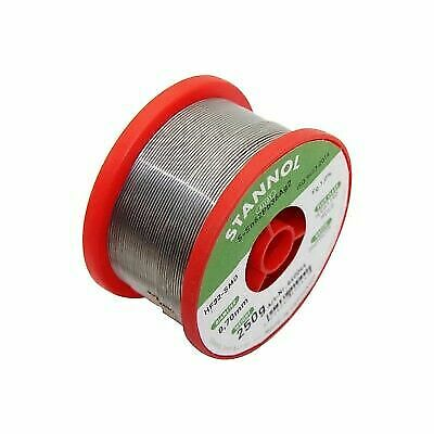 Soldering Wire with Flux Lead Alloy Sn60/Pb40 1.0mm STANNOL 250g Reel Solder