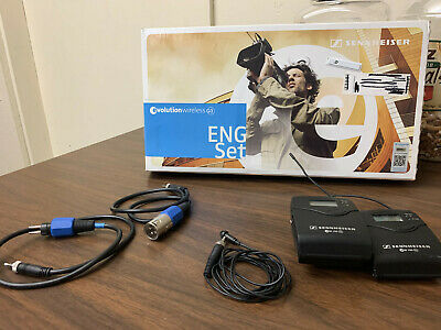 Sennheiser ew 100-ENG G3 Lavalier Wireless Professional Microphone with box