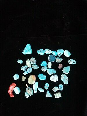 Turquoise And Various Other Beads