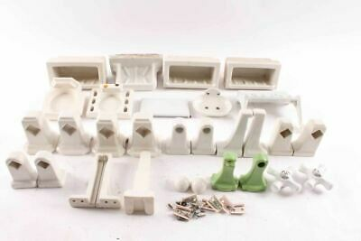 30 Pcs Vintage Bathroom Fixtures Soap Dish Toothbrush Toilet Towel Holders