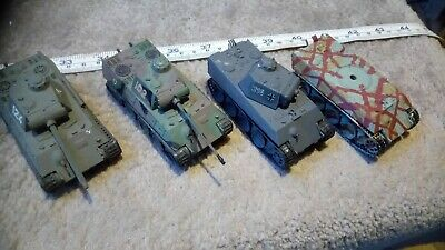 GERMAN PANTHER 1/76 OO SCALE BUILT / MADE JOB LOT x4 SPARES OR REPAIR