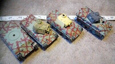 GERMAN PANTHER 1/76 OO SCALE BUILT / MADE JOB LOT x4 SPARES OR REPAIR Z