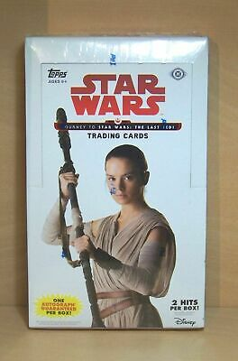2017 Topps Journey to Star Wars The Last Jedi sealed hobby box