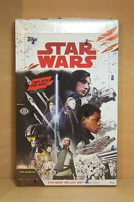 2017 Topps Star Wars The Last Jedi series 1 sealed hobby box