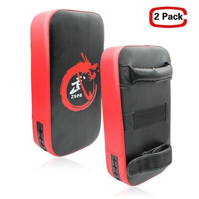 Boxing Kick Shield Strike Arm Pad MMA Focus Muay Thai Punch Bag Training Target