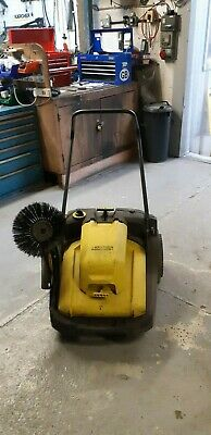 Karcher KM 70/30 C BP Adv Sweeper BATTERY POWERED YARD SWEEPER