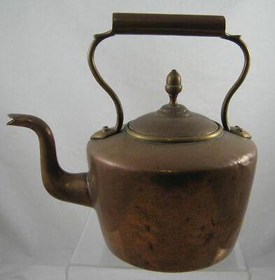Vintage - Art Crafts Style -  copper kettle - 1.39 kg approx