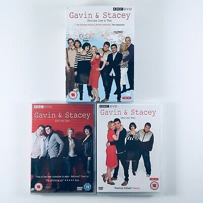 Gavin And Stacey - Series 1-2 (DVD, 2008, 3-Disc Set) Box Set