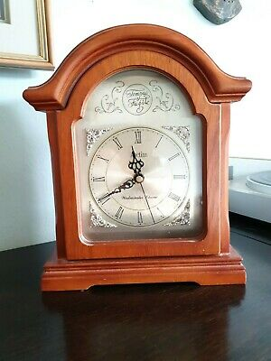 Wooden Case ACCTIM Mantle Clock with Westminster Chime