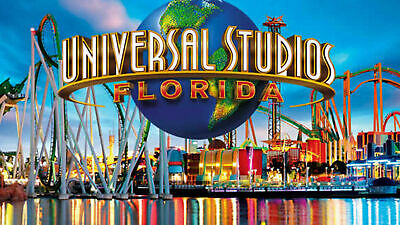 One Adult 3 Park Universal Studio 14 Day Park Pass