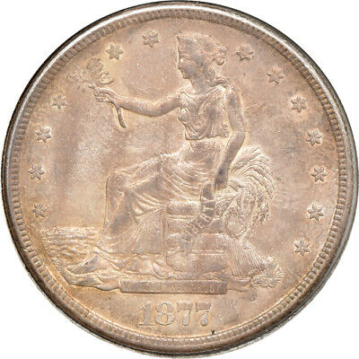 1877-S Trade Dollar, Almost Uncirculated, T$1 C00046873