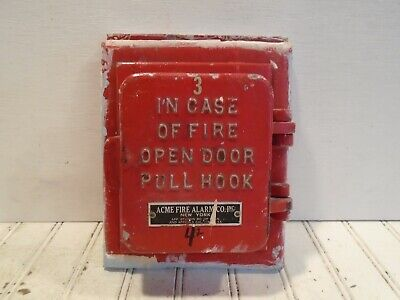 Acme Fire Alarm Box - Vintage Pull Station No. 1201-A