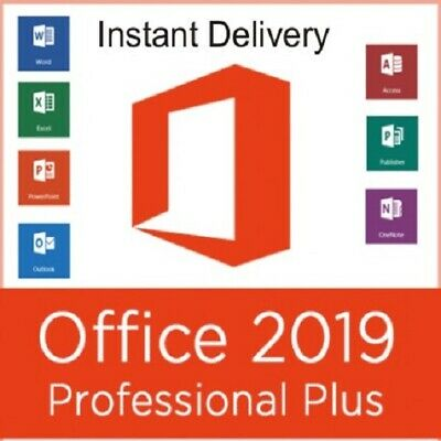 Office 2019 Profesional Plus 1 pc 32 - 64 bits instant Delivery mltilenguaje