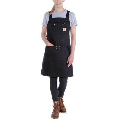 Carhartt Mens Duck Polyester Cotton Ring Spun Apron Bib