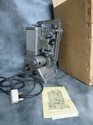 A SUPERB SPECTO 500 DUAL 8mm / 16mm CINE PROJECTOR WITH BOX & MANUAL