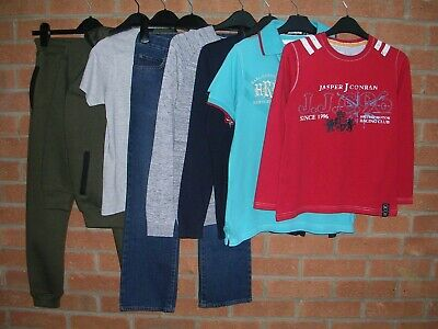NEXT CONRAN GEORGE etc Boys Bundle Jeans Shirts Tops Jumpers Age 9-10 140cm