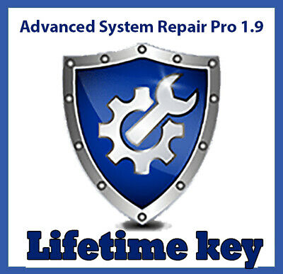 Advanced System Repair Pro 1.9 clean, fix, protect your PC - Digital download