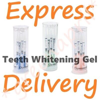 4 x OPALESCENCE 100% ORIGINAL 👈 10% 16% Teeth Whitening Gel MiNT REGULAR MELON