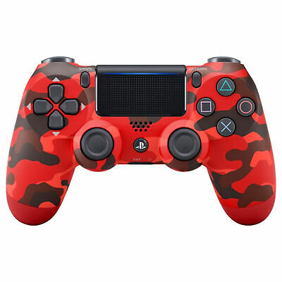 Sony DualShock 4 Wireless Controller Red Camouflage - Wireless - For PlayStation
