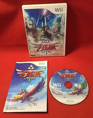 The Legend Of Zelda Skyward Sword - Nintendo Wii - PAL - TESTED