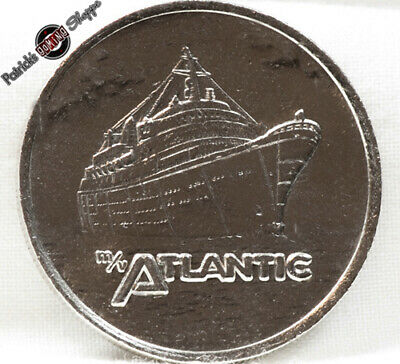 $1 Slot Token Coin Home Lines Cruises Casino M/V Atlantic Rare Ship Gaming