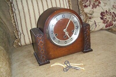 Old Clock with Key Foreign Working
