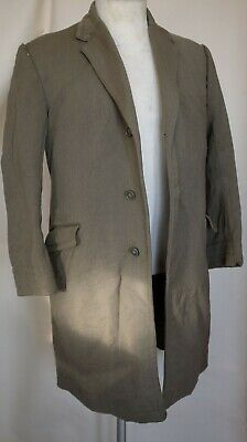 Heavy Vintage Overcoat (dated 02 10 1970) Distressed (40/42 Inches 102/107cm Che