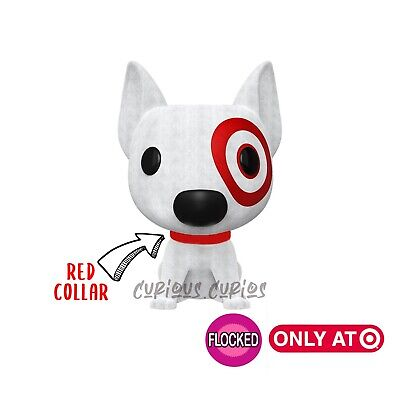 Bullseye Funko Pop Flocked Target Dog Ad Icons 05 Exclusive Funko Pop - PREORDER