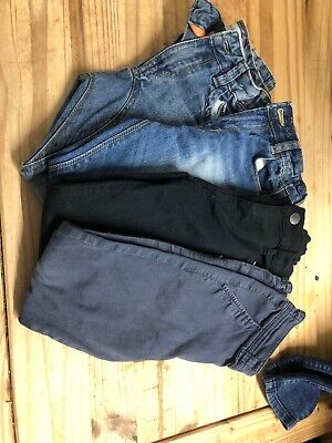 Boys , 3 Pair Jeans , 1 Pair Trousers , 7-8 Year Old