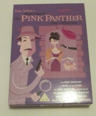 Peter Sellers in Blake Edwards' The Pink Panther Film Collection (6 DVDs)