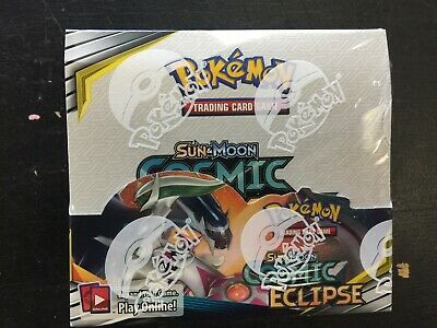 Pokemon TCG Cosmic Eclipse Factory Sealed Booster Box 36 Packs NEW
