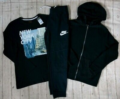 12 13 Years Bnwt, Nike Tracksuit Bottoms Hoodie Jacket Tops Boys Clothes Bundle