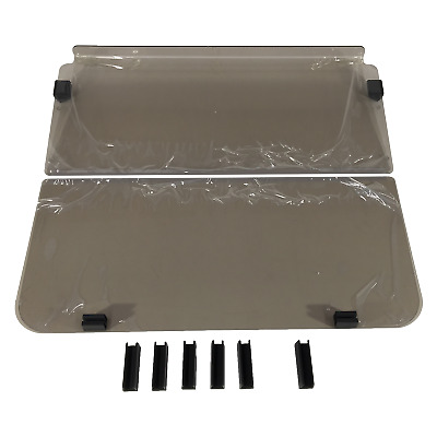 WINDSHIELD FOR CLUB CAR DS pre 2000 GOLF CARS.2 PIECE FOLD DOWN. STRONG ACRYLIC.