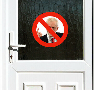British Armed Forces Veteran Anti Labour Party Anti Corbyn Door Sticker brexit