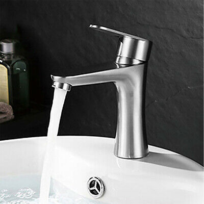 Home Faucet Single Handle Bar Sink Basin Faucet Finished Ceramic Valve Water Tap