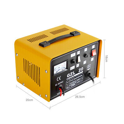 Car Battery Charger 20 AMP 12V/24V Come inRobust Steel Case with Boost Function